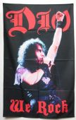 Dio - 'We Rock' Textile Poster
